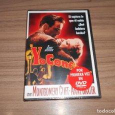 Cine: YO CONFIESO DVD MONTGOMERY CLIFT ANNE BAXTER WARNER NUEVA PRECINTADA. Lote 294476353