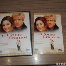 Cine: TAL COMO ERAMOS EDICION ESPECIAL DVD BARBRA STREISAND ROBERT REDFORD. Lote 294478733