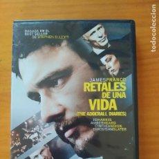 Cine: DVD RETALES DE UNA VIDA (THE ADDERALL DIARIES) - JAMES FRANCO (6M). Lote 294996633