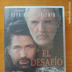 Cine: DVD EL DESAFIO - ANTHONY HOPKINS, ALEC BALDWIN (6M). Lote 294997713