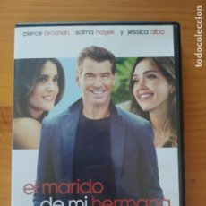 Cine: DVD EL MARIDO DE MI HERMANA - PIERCE BROSNAN, SALMA HAYEK, JESSICA ALBA (6M). Lote 294997943