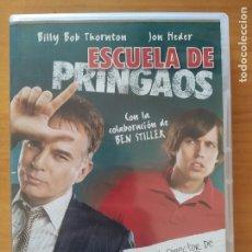 Cine: DVD ESCUELA DE PRINGAOS - BILLY BOB THORNTON (6M). Lote 294998308