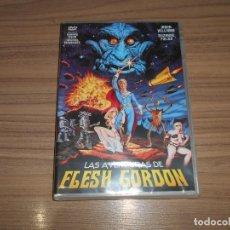 Cine: LAS AVENTURAS DE FLESH GORDON DVD FLASH GORDON NUEVA PRECINTADA. Lote 295046068
