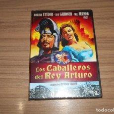 Cine: LOS CABALLEROS DEL REY ARTURO DVD ROBERT TAYLOR AVA GARDNER NUEVA PRECINTADA. Lote 295046558