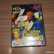 Cine: EL CAPITAN HORATIO HORNBLOWER DVD VIRGINIA MAYO GRAGORY PECK NUEVA PRECINTADA. Lote 295046943