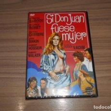 Cine: SI DON JUAN FUESE MUJER DVD BRIGITTE BARDOT NUEVA PRECINTADA. Lote 295047293