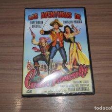 Cine: LAS AVENTURAS DE CADET ROUSSELLE DVD DANY ROBIN BOURVIL NUEVA PRECINTADA. Lote 295047518