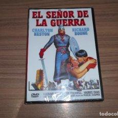 Cine: EL SEÑOR DE LA GUERRA DVD RICHARD BOONE CHARLTON HESTON NUEVA PRECINTADA. Lote 295047618