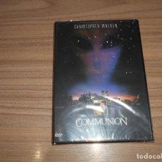 Cine: COMMUNION DVD CHRISTOPHEN WALKEN NUEVA PRECINTADA. Lote 295047758