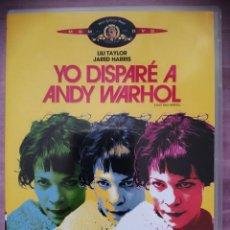 Cine: YO DISPARE A ANDY WARHOL. Lote 295303533