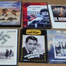 Cine: LOTE DE 10 PELICULAS DVD BUENAS Y EN BUEN ESTADO VISIONADA ALGUNA UNA VEZ- LEER ENVIOS. Lote 295343293
