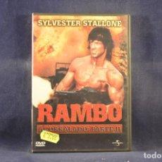 Cine: RAMBO - ACORRALADO: PARTE II - DVD. Lote 295441918