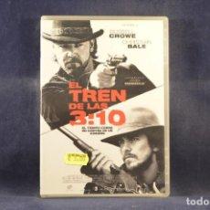 Cine: EL TREN DE LAS 3:10 - DVD. Lote 295443868