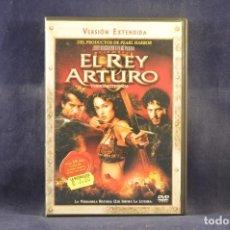 Cine: EL REY ARTURO - VERSIÓN EXTENDIDA - DVD. Lote 295445278