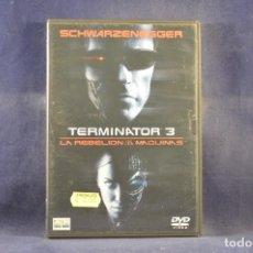 Cine: TERMINATOR 3 - LA REBELION DE LAS MAQUINAS - 2 DVD. Lote 295455738