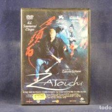 Cine: ZATOICHI - DVD. Lote 295455938