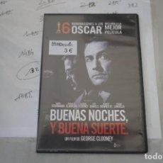 Cine: 13B6/ DVD - BUENAS NOCHES Y BUENA SUERTE - GEORGE CLOONEY. Lote 295459603