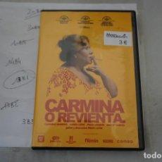 Cine: 13B6/ DVD - CARMINA O REVIENTA / PACO LEON. Lote 295459713