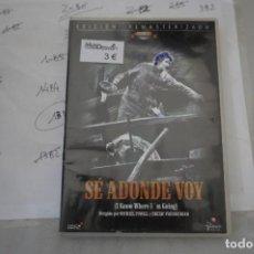 Cine: 13B6/ DVD - SE ADONDE VOY -/ MICHEL POWELL. Lote 295459888