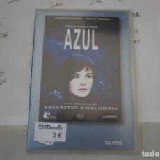 Cine: 13B6/ DVD - TRES COLORES AZUL - KRZYSZTOF KIESLOWSKI. Lote 295460123