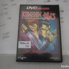 Cine: 13B6/ DVD - KENSHIN - EL GUERRERO SAMURAI - LA PELICULA. Lote 295460388