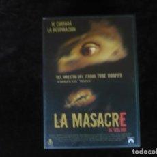 Cinema: LA MASACRE - DE TOOLBOX - DVD CASI COMO NUEVO. Lote 295495168