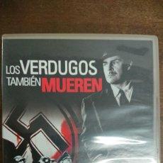 Cine: LOS VERDUGOS TAMBIÉN MUEREN - FRITZ LANG - BRIAN DONLEVY, WALTER BRENNAN - FILMAX 2006. Lote 295505933