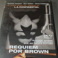 Cine: REQUIEN POR BROWN. Lote 295520588
