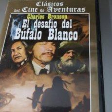 Cine: EL DESAFÍO DEL BUFALO BLANCO. Lote 295523498