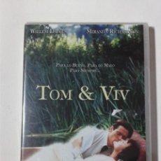 Cine: TOM & VIV - WILLEM DAFOE - DVD NUEVO PRECINTADO. Lote 295538188