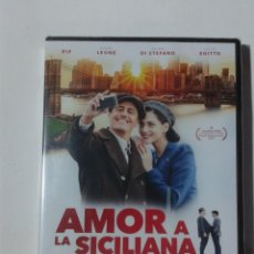 Cine: AMOR A LA SICILIANA - DVD NUEVO PRECINTADO. Lote 295538293