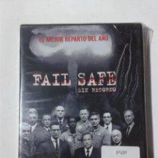 Cine: FAIL SAFE - SIN RETORNO - DVD NUEVO PRECINTADO. Lote 295538333