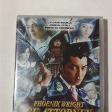 Cine: PHOENIX WRIGHT - ACE ATTORNEY - DVD NUEVO PRECINTADO. Lote 295538798