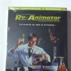 Cine: REANIMATOR - EDICION ESPECIAL RESTAURADA Y REMASTERIZADA - DVD NUEVO PRECINTADO. Lote 295539128