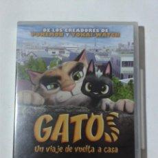 Cine: GATOS - UN VIAJE DE VUELTA A CASA - DVD NUEVO PRECINTADO. Lote 295539183