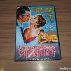 Cine: LOS CONTRABANDISTAS DE MOONFLEET DVD DE FRITZ LANG STEWART GRANGER NUEVA PRECINTADA. Lote 295628918