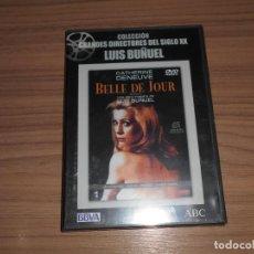 Cine: BELLE DE JOUR DVD DE LUIS BUÑUEL CATHERINE DENEUVE NUEVA PRECINTADA. Lote 295630288
