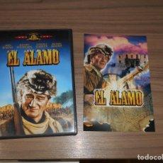Cine: EL ALAMO DVD JOHN WAYNE COMO NUEVA. Lote 295630368