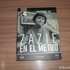 Cine: ZAZIE EN EL METRO EDICION ESPECIAL 2 DVD DE LOUIS MALLE DISCOS COMO NUEVOS. Lote 295630758