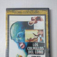 Cine: LOS COLMILLOS DEL LOBO/DVD TERROR PRECINTADO.. Lote 295722733