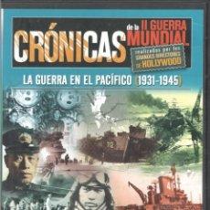 Cine: D. DVD. CRONICAS LA GUERRA EN EL PACIFICO (1931-1945).. Lote 295730368