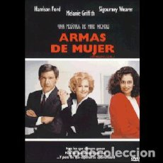 Cine: ARMAS DE MUJER DIRECTOR: MIKE NICHOLS ACTORES: HARRISON FORD, MELANIE GRIFFITH, SIGOURNEY WEAVER. Lote 295731298