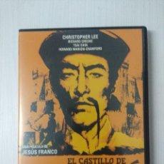 Cine: EL CASTILLO DE FU-MANCHU/JESUS FRANCO/DVD TERROR.. Lote 295770003