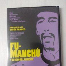 Cine: FU-MANCHU Y EL BESO DE LA MUERTE/JESUS FRANCO/DVD TERROR.. Lote 295770098
