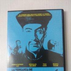 Cine: LA VENGANZA DE FU-MANCHU/DVD TERROR.. Lote 295770258