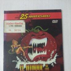Cine: EL ATAQUE DE LOS TOMATES ASESINOS/DVD TERROR.. Lote 295770563