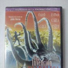 Cine: UNA INVENCION DIABOLICA/DVD PRECINTADO¡¡¡¡¡¡¡¡.. Lote 295770753