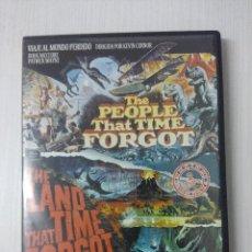 Cine: VIAJE AL MUNDO PERDIDO/LA TIERRA OLVIDADA POR EL TIEMPO/DVD DOBLE.. Lote 295770928