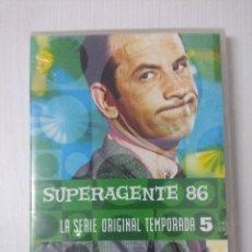 Cine: SUPERAGENTE 86/SERIE ORIGINAL TEMPORADA 5/CAJA DE 5 DVD'S.. Lote 295775913