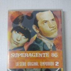 Cine: SUPERAGENTE 86/SERIE ORIGINAL TEMPORADA 2/CAJA DE 5 DVD'S.. Lote 295776193